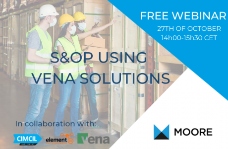 Webinar: Sales & Operations Planning using VENA Solutions