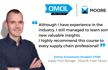 APICS CPIM Testimonial Jimmy Grosemans - Supply Chain Manager Eduard